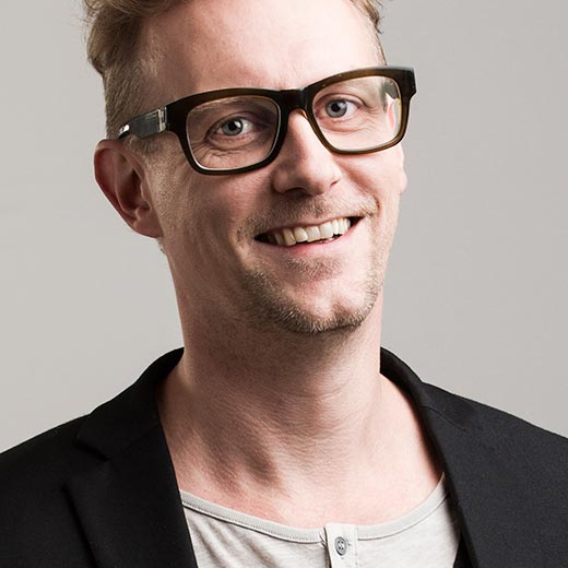 Janne Strang - Bakom Micken - juontaja